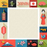Japan background design Stock Photo