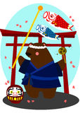 Japan Bear Royalty Free Stock Image