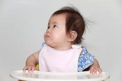 Japan behandla som ett barn flickan som att äta behandla som ett barn mat Fotografering för Bildbyråer
