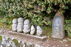Japan bhudda statues in the park Stock Photography