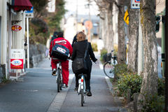 Japan by bicycle Royalty Free Stock Image