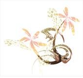 Japan-Blumen lizenzfreie abbildung