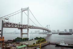 japan bridżowa tęcza Tokyo zdjęcia stock
