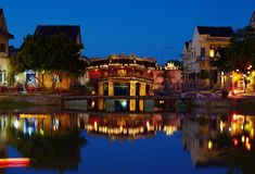 JApan bridge in Hoi An Stock Image