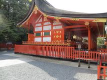 Japanese Shinto shrine Stock Image