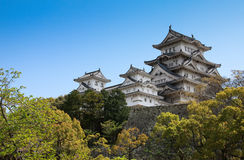 Japan castle Stock Image