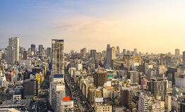 Japan Cityscape Royalty Free Stock Photos