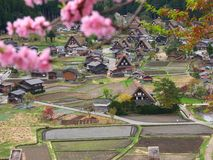 Japan countryside Royalty Free Stock Photo