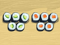 Japan cuisine Royalty Free Stock Photos