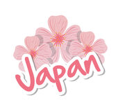 Japan culture design. Japan  concept with culture icon design, vector illustration 10 eps graphic Royalty Free Stock Photography