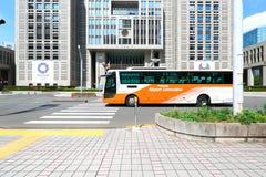 Japan: De bussen van de luchthavenlimousine stock foto's