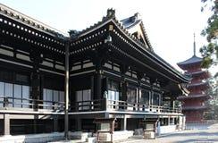 Japan dekorerade templet Royaltyfri Foto
