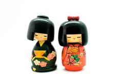 Japan doll Royalty Free Stock Photo