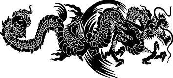 Japan dragon Royalty Free Stock Photography