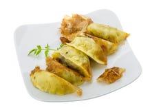 Japan dumplings - gyoza Royalty Free Stock Images