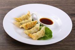 Japan dumplings - Gyoza Stock Photo