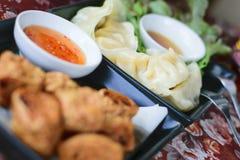 Japan dumplings - Gyoza Royalty Free Stock Photos