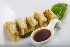 Japan dumplings - Gyoza Stock Photography