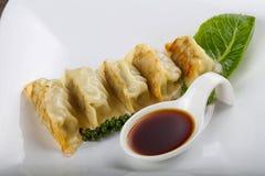 Japan dumplings - Gyoza Stock Image