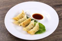 Japan dumplings - Gyoza Royalty Free Stock Image