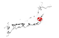 Japan Earthquake Royalty Free Stock Photography