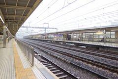 Japan-Eisenbahn in Tokyo, Japan Lizenzfreie Stockfotografie