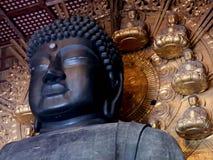 japan engheid De Tempel van Todaiji Stock Afbeelding