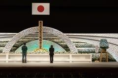 Japan erinnert sich an Opfer des Tsunamis. Lizenzfreie Stockfotos
