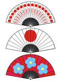 Japan fan Royalty Free Stock Photo