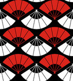 Japan fan abstract background stock illustration