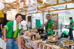 Japan Festa in Bangkok 2013 Royalty Free Stock Photo