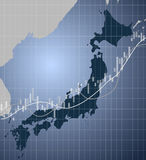 Japan-Finanzierung und -markt Stockfoto