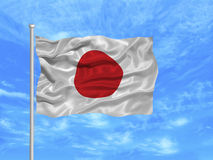 Japan Flag 1 Stock Photos
