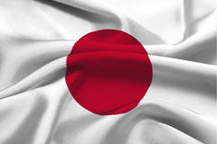 Japan flag Royalty Free Stock Photography