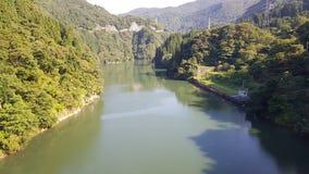 Japan flod Arkivfoto
