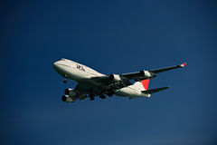 Japan-Fluglinie 747-400 Stockfoto