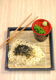 Japan food - noodle Royalty Free Stock Photography