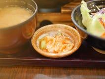Salad in Japan food restaurant Stock Image