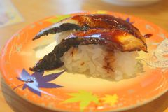 Shushi japan food. Japan food in the restaurant in japan stock photo