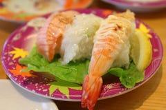 Shushi japan food. Japan food in the restaurant in japan royalty free stock photo