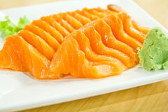 Japan food salmon sashimi Royalty Free Stock Image