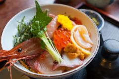 Japan food sashimi Stock Images