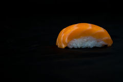 Japan food sushi close up view Stock Photo