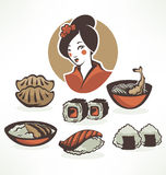 Japan food Stock Images