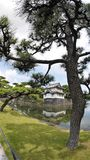 Japan forntida historisk slott royaltyfri bild