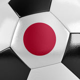 Japan fotbollboll Royaltyfria Foton