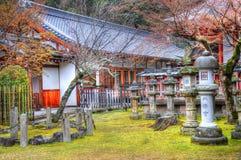 Japan garden. View for japan garden in Kyoto Stock Photo