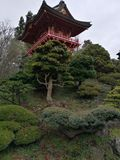 Japan Garden. Golden Gate Park stock images