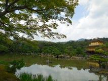 Japan Garden Kyoto Kinkaku-ji Temple stock photos