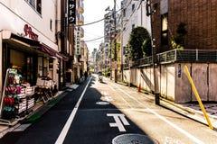 japan gata Arkivbilder